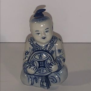 Other - Asian decor snuff bottle/jar with spoon cocaine